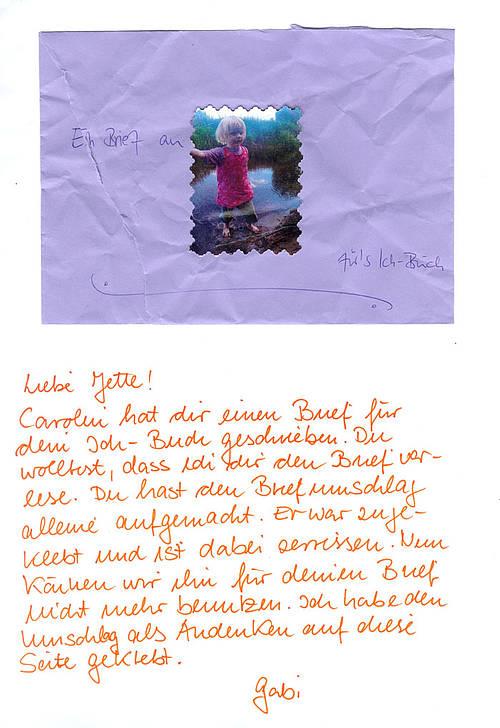 kennenlernen brief kindergarten