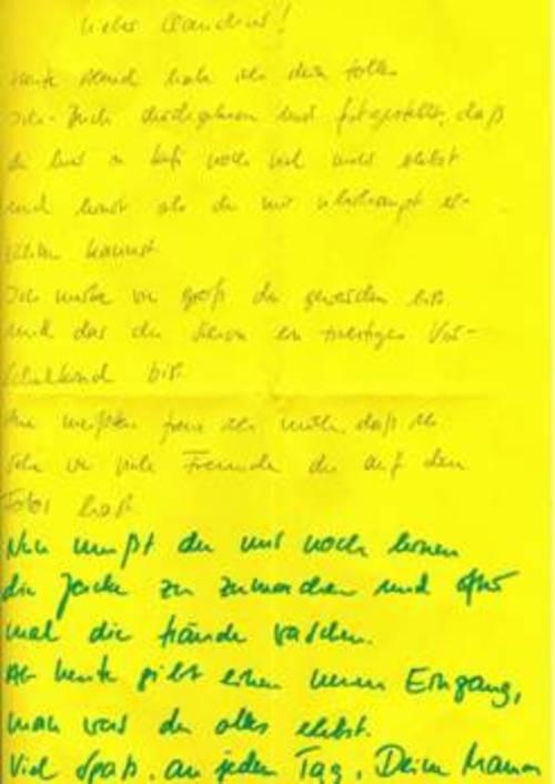 Briefe Für Kindergartenkinder : Postkarten schreiben muster newcalendar